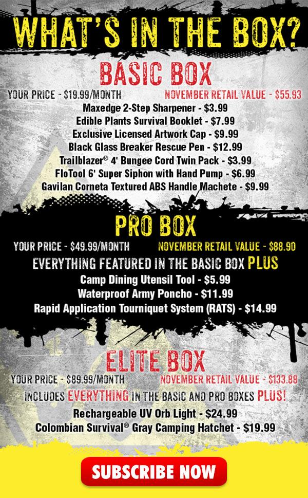 November 2017 Box